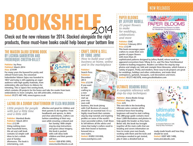 Craft Business Jan/Feb 2014