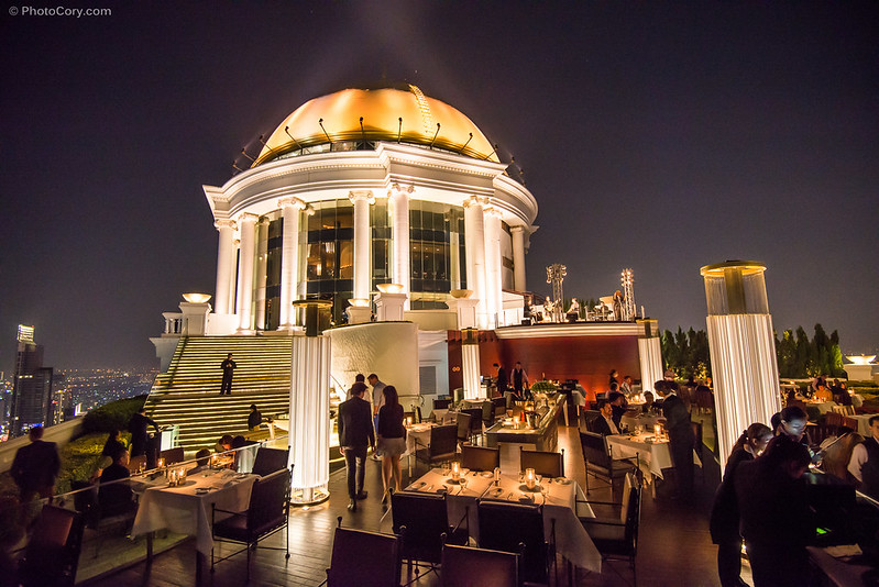 Bangkok Sirocco bar, where hangover II was filmed