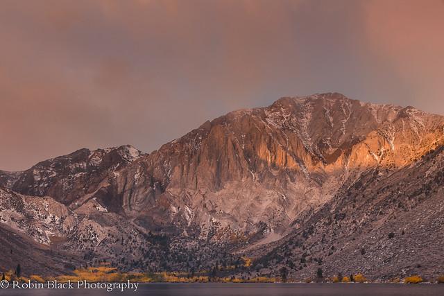 Autumn Sunrise, Convict Lake (Eastern sierra)
