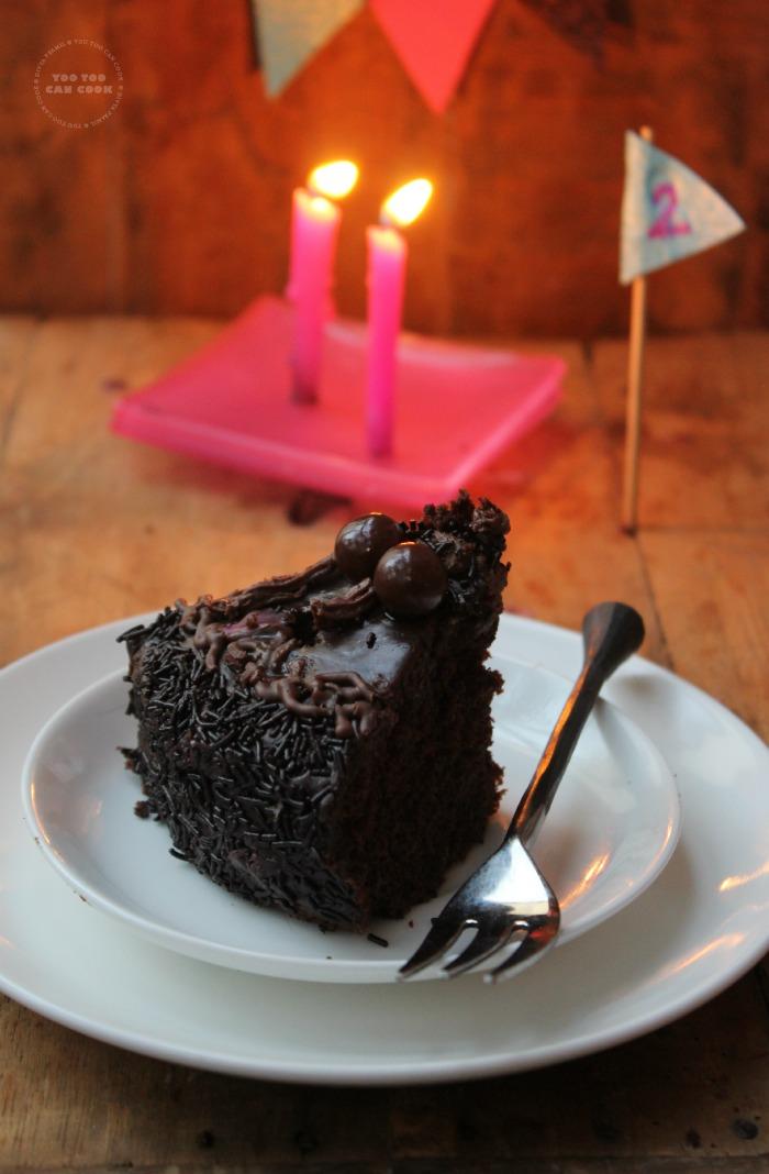 chocolate cake 392