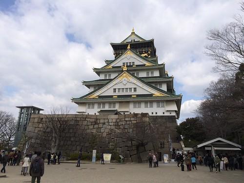 大坂城の天守(大阪城天守閣 ...