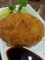 140308 Today's lunch: Japanese croquette (Pot…