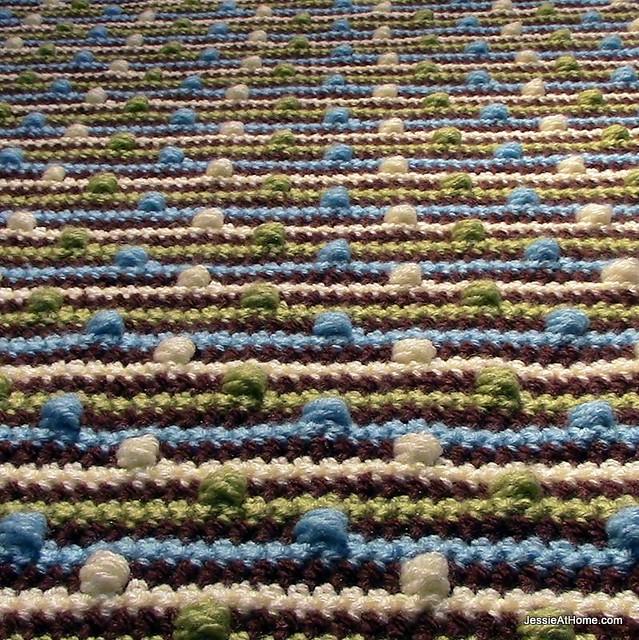 Joseph's-Puff-Stitch-Crochet-Blanket-Free-Pattern