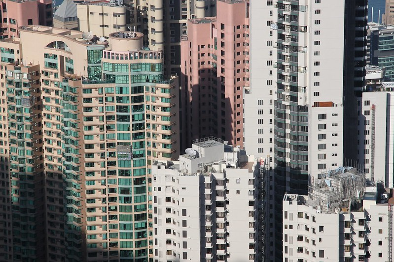 Urban Environments - Vertical living in Hong Kong