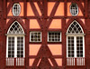 Half-timbered House by Batikart