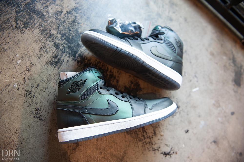 Air Jordan I x SB's.