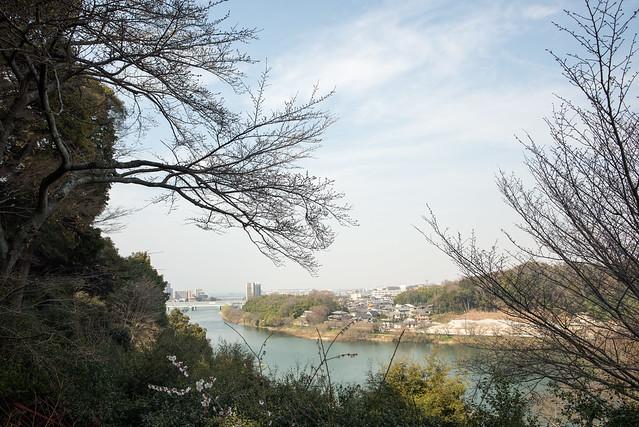 石山寺からの景色