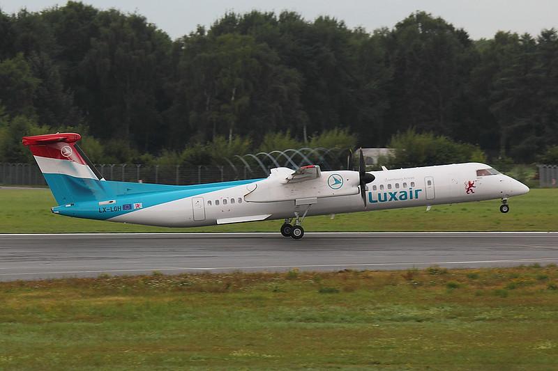 Luxair - DH8D - LX-LGH (1)