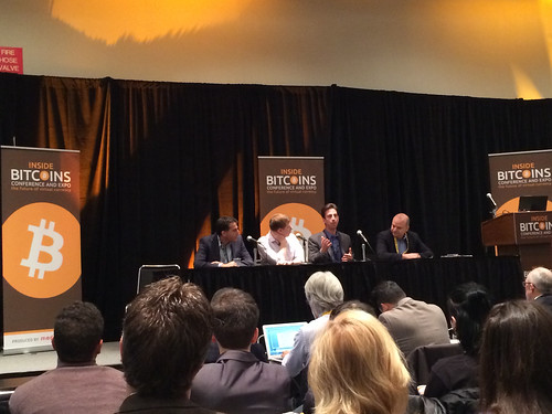 Panel at the NY Bitcoin Conference 2014