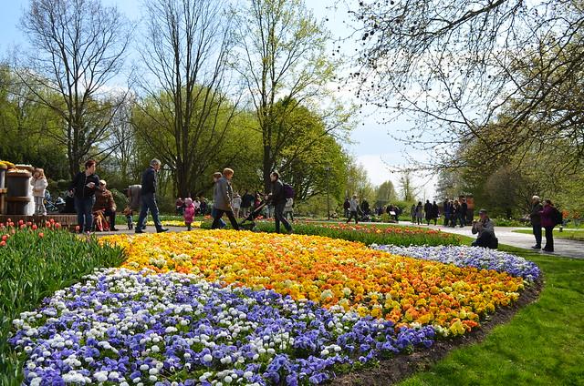 Berlin Cherry Blossom Festival Kirschbluetenfest Gaertens der Welt Erholungspark Marzahn_flowers at entrance