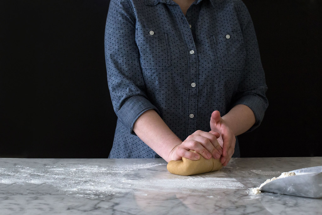 Kneading dough from Food52