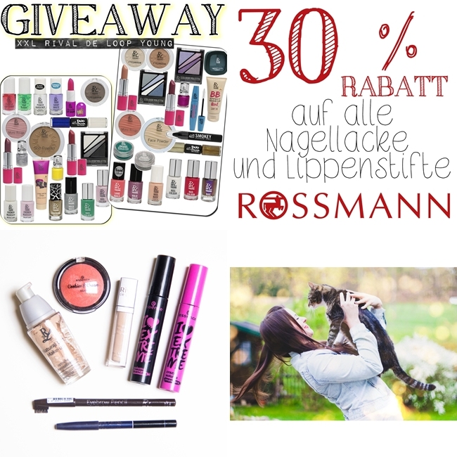 Rival de Loop Young Neue Theke, Face of the Day, Rossmann 30%, Instagram