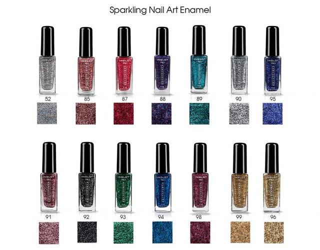 Sparkling Nail Art Enamel