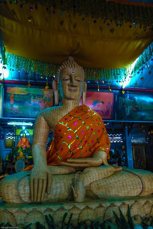Bamboo Buddha, Wat Chong Kham