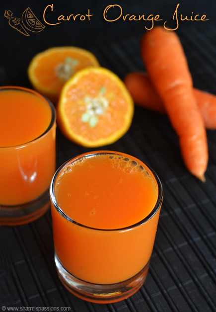 Carrot Orange Juice Recipe