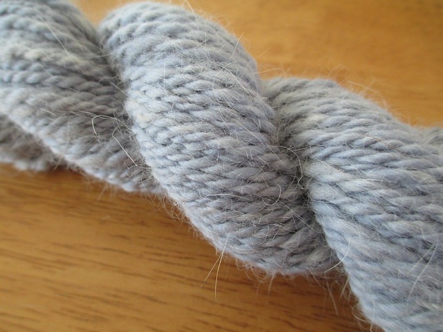 Siberian Fur Yarn: Light Blue