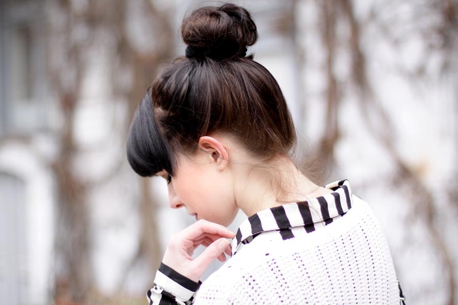 bun stripes black white outfit sacha schuhe boots proenza schouler numph minimal cute styling fashionblogger berlin hannover ricarda schernus blog cats & dogs wie hund und katze 3