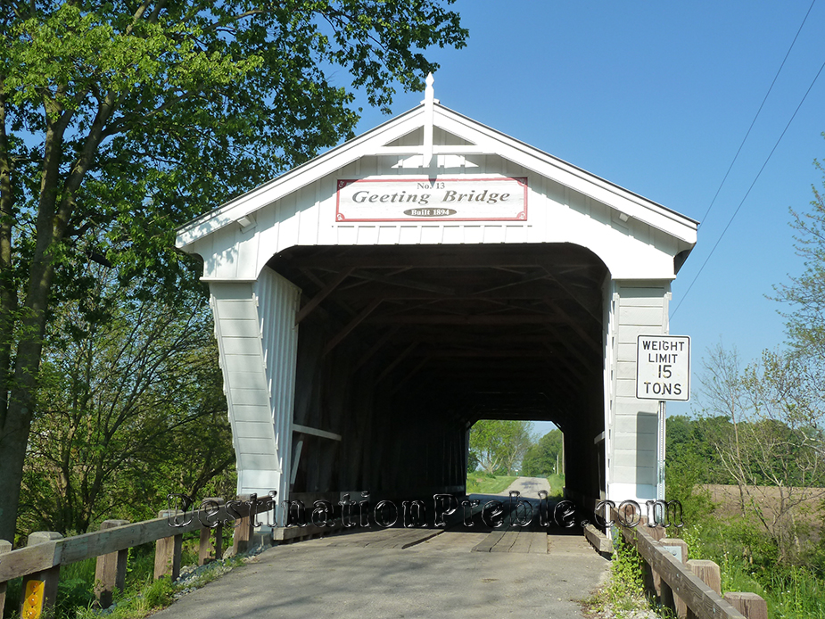 Geeting Covered Bridge - Preble County