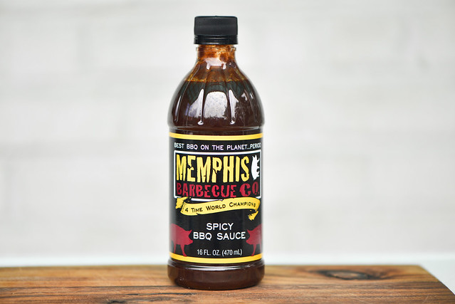 Memphis Barbecue Co. Spicy BBQ Sauce