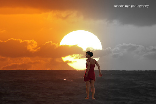 ocean sky woman sun art clouds photoshop sunrise quote halftone effect atlanticocean thegalaxy donotlookback