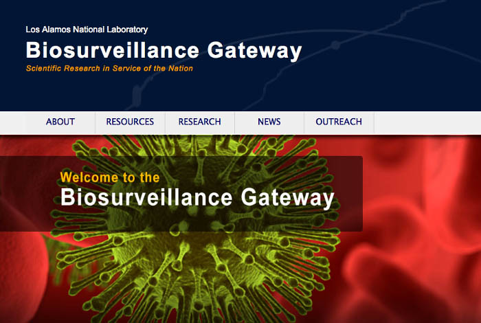 Supporting biosurveillance via the web