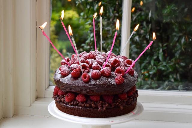 Rachel Phipps 6 Years Of Blogging Chocolate Ganache Raspberry