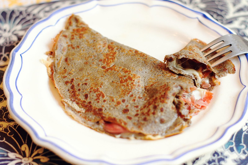 Sunday Lunch: Savory Buckwheat Crêpes