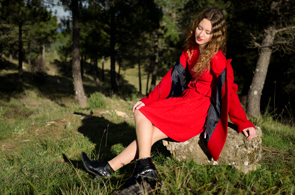 Posando en moda desde Grazalema