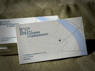 Logo/Business card x Lechner Tudásközpont