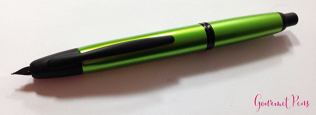 Review Pilot Vanishing Point Valley Green Fountain Pen @PilotPenUSA (8)