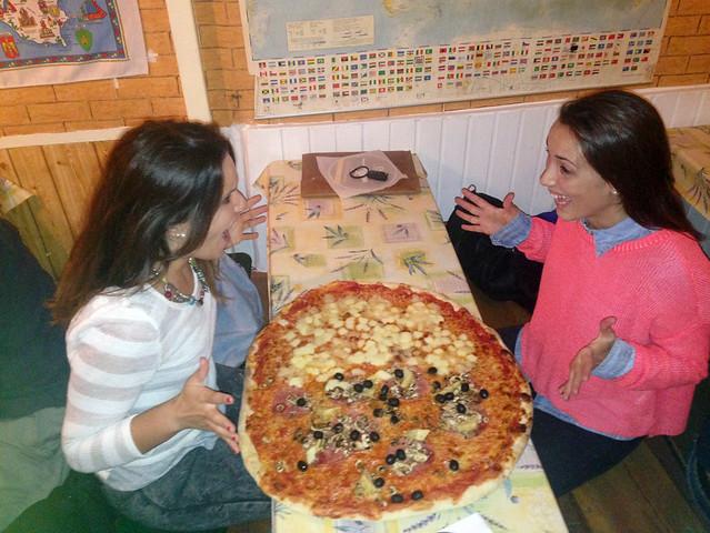 Foto en trattoria Venezia de Berlín - pizza