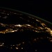 "Italy from my ""window"" last night. by AstroSamantha"