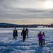 Frozen lake afternoon by Hendricks_NY