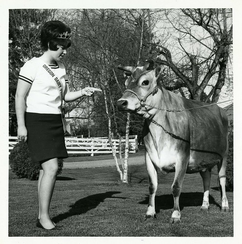 Oregon Dairy Princess Mary Ann Cantrall, 1969-70