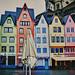 colorful houses von {esmaLâle}