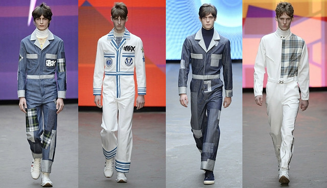mens-boilersuits,Seventies-inspired collection, Topman Seventies-inspired collection, High-waisted jeans, men's High-waisted jeans