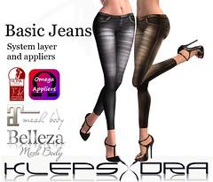 Klepsydra - Basic Jeans - AD