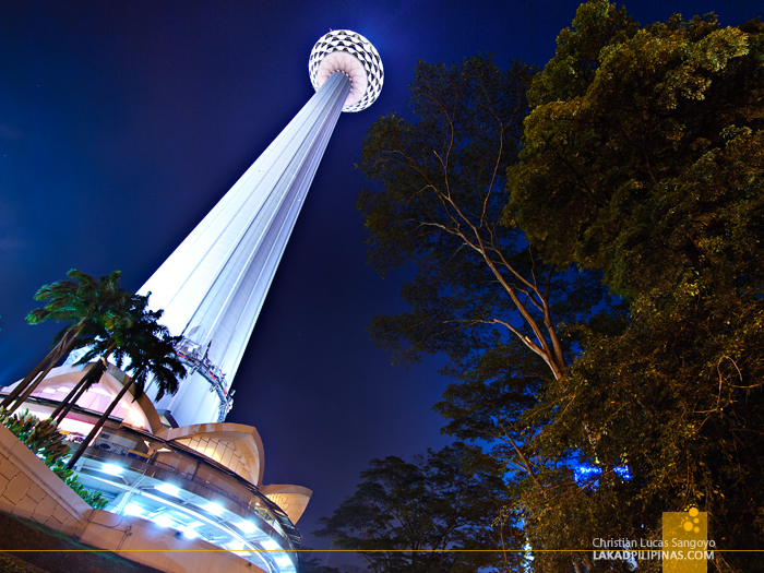 Evenings at the KL Tower in Kuala Lumpur