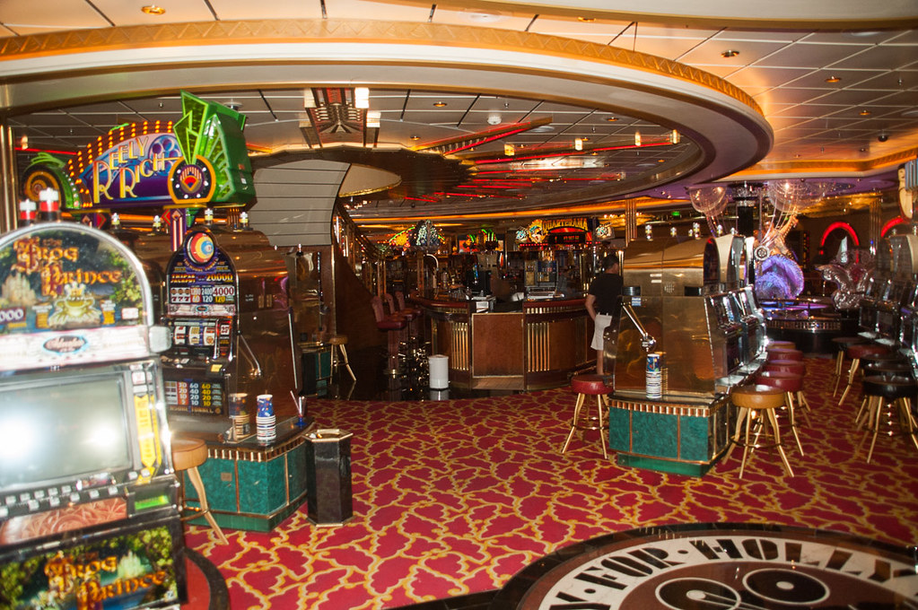 Casino on Royal Caribbean Adventure of the Seas