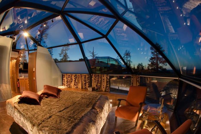 Làng khách sạn lều tuyết Kakslauttanen