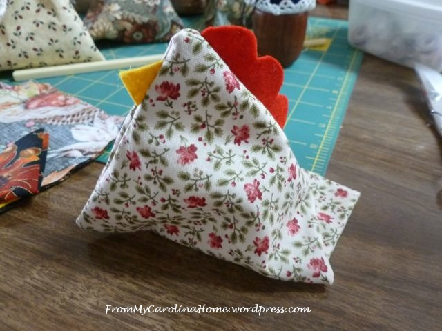 Chicken Pincushion - 5