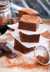 Ginger brownies