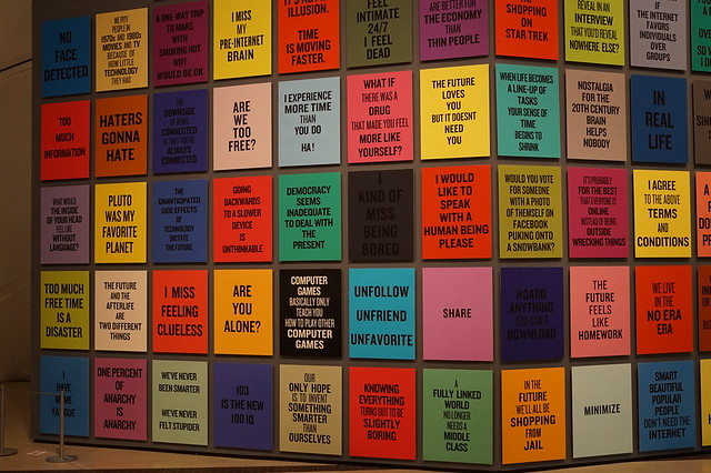 Douglas Coupland Exhibit at the ROM