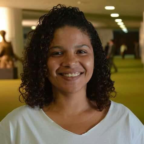 Jessy Dayane é diretora de Políticas Educacionais da União Nacional dos Estudantes (UNE) - Créditos: Acervo pessoal