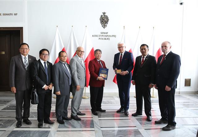 Delegacja Izby Reprezentantów Indonezji w Senacie