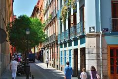Calle del Pez. Barrio de Malasaña. Madrid