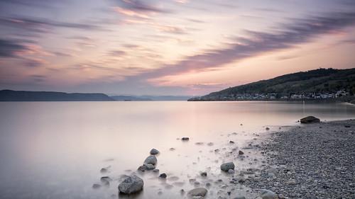 longexposure canada sunrise river quebec côte ciel fjord paysage extérieur plage saguenay leverdesoleil rivage labaie littoral rivière marée leefiltre