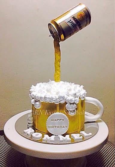 Beer Cake by Nonie Antazo of RN Kusina Sweetbakes