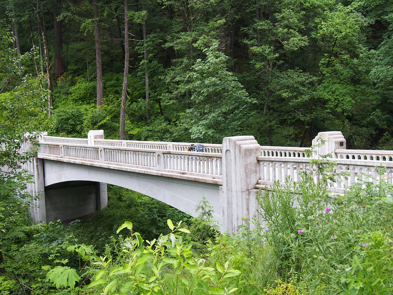McCord Creek Bridge: On the Historic Columbia River Highway State Trail