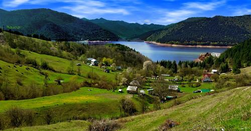 flickrtravelaward romania panorama neamt izvorul muntelui forest dam water ngc nwm